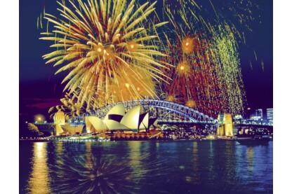 Ravensburger 16622 - Tűzijáték Sydneyben - 2000 db-os puzzle