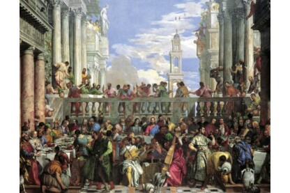 Ravensburger 16653 - Paolo Veronese - A kánai menyegző - 2000 db-os puzzle