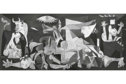 Ravensburger 16690 - Panoráma puzzle - Picasso - Guernica - 2000 db-os puzzle
