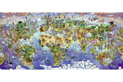 Ravensburger 16698 - Panoráma puzzle - A Világ csodái - 2000 db-os puzzle
