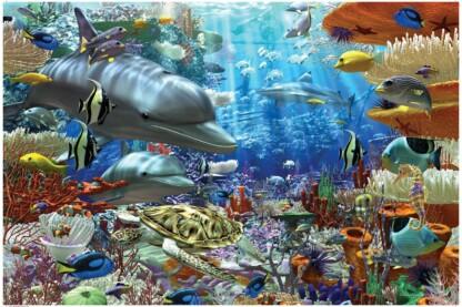 Ravensburger 17027 - Élet a víz alatt - 3000 db-os puzzle