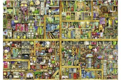 Ravensburger 17825 - Varázslatos könyvespolc - Colin Thompson - 18000 db-os puzzle