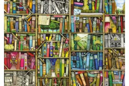 Ravensburger 19137 - Varázslatos könyvespolc - Colin Thompson - 1000 db-os puzzle