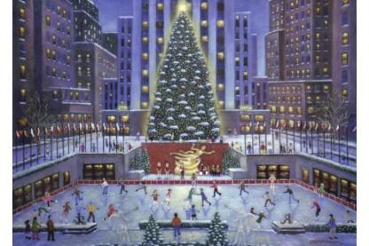 Ravensburger 19563 - Karácsony New Yorkban - 1000 db-os puzzle