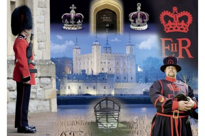 Ravensburger 19581 - Történelmi királyi paloták - Tower of London - 1000 db-os puzzle