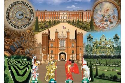 Ravensburger 19582 - Történelmi királyi paloták - Hampton Court Palace - 1000 db-os puzzle