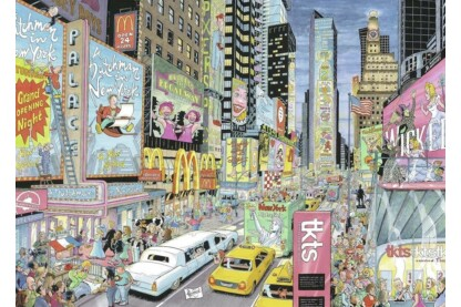 Ravensburger 19732 - Cities of the World - New York - 1000 db-os puzzle
