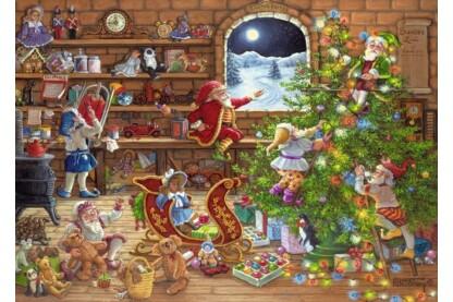 Ravensburger 19882 - Karácsonyi készülődés - 1000 db-os puzzle