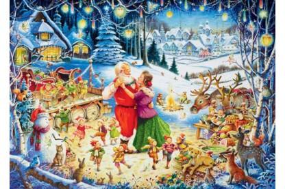 Ravensburger 19893 - Karácsonyi party, Roy Trower - 1000 db-os puzzle