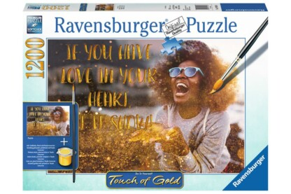 Ravensburger 19933 - puzzle - Touch of Gold - Show me Love - 1200 db-os puzzle