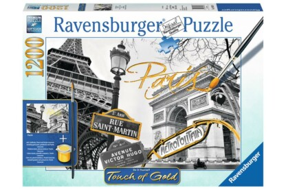 Ravensburger 19935 - puzzle - Touch of Gold - Párizs - 1200 db-os puzzle