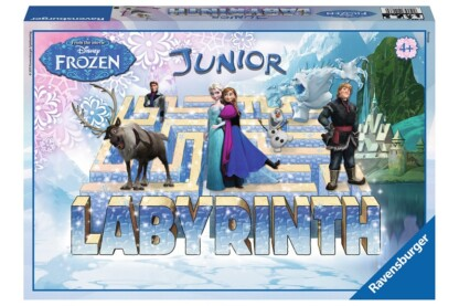 Ravensburger 21186 - Jégvarázs Junior Labirintus társasjáték