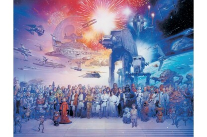 Ravensburger 16701 - Star Wars Univerzum - 2000 db-os puzzle