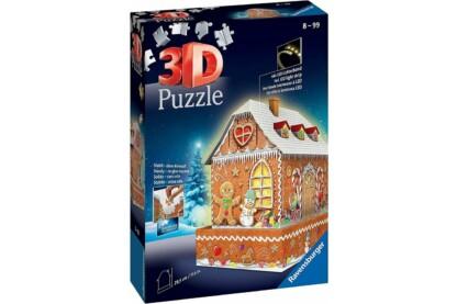 Ravensburger 11237 - Mézeskalács ház - 216 db-os 3D puzzle