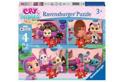Ravensburger 03052 - Cry Babies Magic Tears - Varázskönnyek - 4 az 1-ben (12, 16, 20, 24 db-os) puzzle