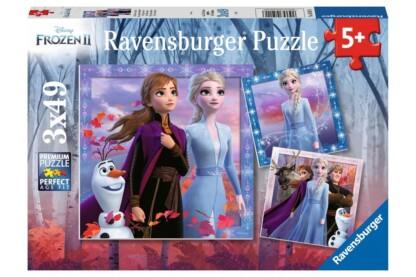 Ravensburger 05011 - Jégvarázs 2 - 3 x 49 db-os puzzle