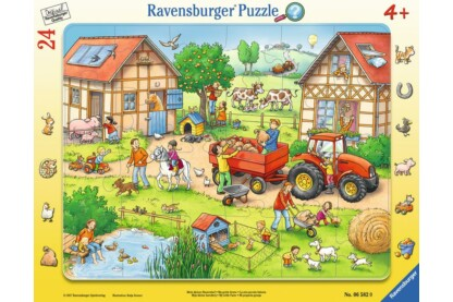 Ravensburger 06582 - Én kicsi farmom - 24 db-os keretes puzzle