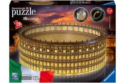 Ravensburger 11148 - Night Edition - Kolosszeum - 216 db-os 3D puzzle