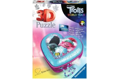 Ravensburger 11232 Trollok a világ körül dobozka - 54 db-os 3D puzzle