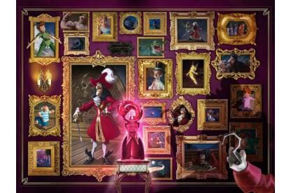 Ravensburger 15022 - Disney gonoszai - Hook kapitány - 1000 db-os puzzle