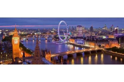 Ravensburger 15064 - Panoráma puzzle - London éjjel - 1000 db-os puzzle