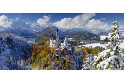Ravensburger 16691 - Panoráma puzzle - Neuschwanstein kastély - 2000 db-os puzzle