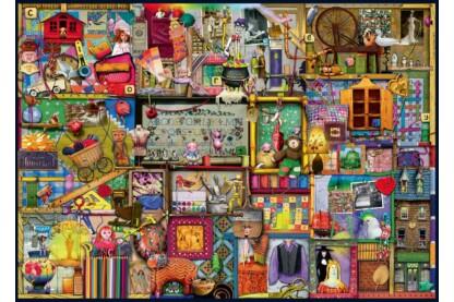 Ravensburger 19412 - Kézműves szekrény - Colin Thompson - 1000 db-os puzzle