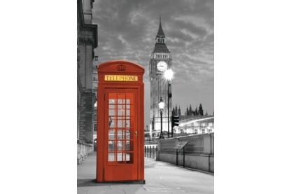 Ravensburger 19475 - Big Ben és telefonfülke, London - 1000 db-os puzzle