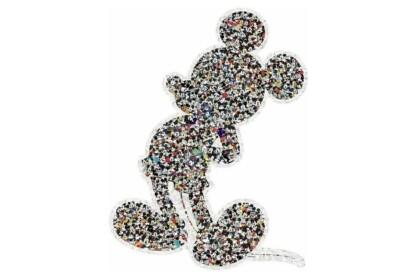 Ravensburger 16099 - Mickey egér - 945 db-os sziluett puzzle