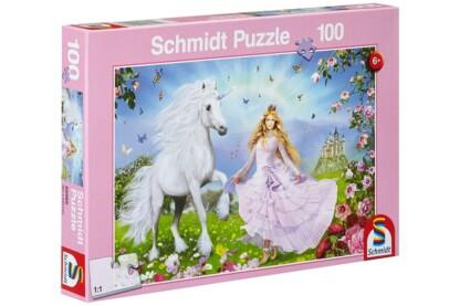 Schmidt 55565 - Princess of the Unicorns - 100 db-os puzzle