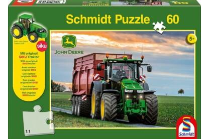 Schmidt 56043 - Traktor 8370R, John Deere - 60 db-os puzzle