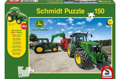 Schmidt 56045 - Traktoren der 5M Serie, John Deere - 150 db-os puzzle