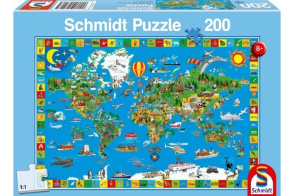 Schmidt 56118 - Your amazing world - 200 db-os puzzle