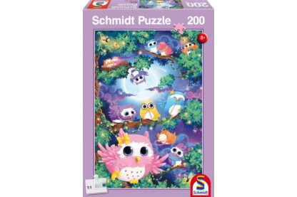 Schmidt 56131 - In Owl Wood - 200 db-os puzzle