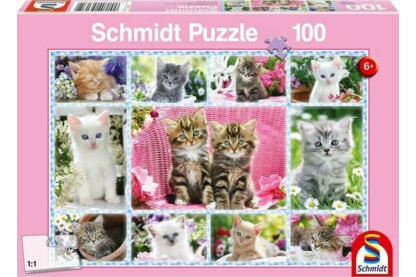 Schmidt 56135 - Kittens - 100 db-os puzzle