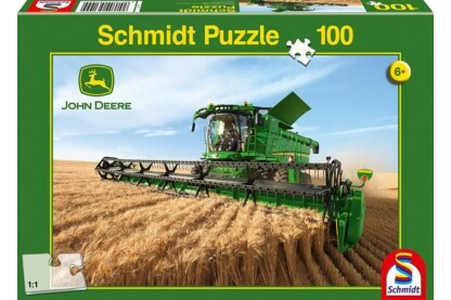 Schmidt 56144 - Mähdrescher S690, John Deere - 100 db-os puzzle