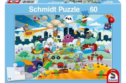 Schmidt 56154 - Kleine Helden - 60 db-os puzzle