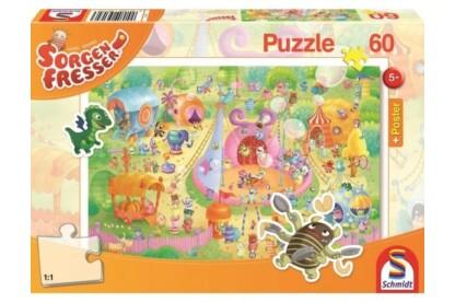 Schmidt 56170 - Manege Frei! Sorgenfresser - 60 db-os puzzle