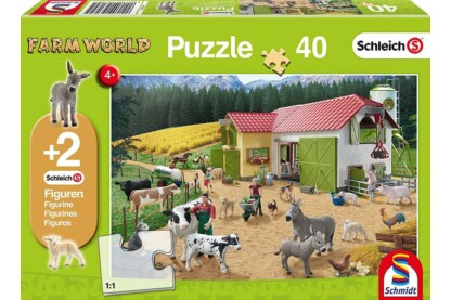 Schmidt 56189 - A Day at the Farm - 40 db-os puzzle