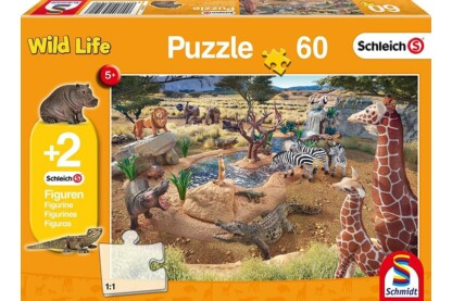 Schmidt 56191 - At the Watering Hole  - 60 db-os puzzle
