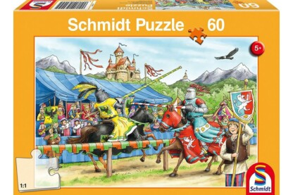 Schmidt 56204 - Jousting Knight - 60 db-os puzzle