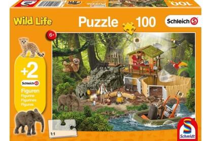 Schmidt 56238 - Science Croco - 100 db-os puzzle