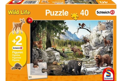 Schmidt 56239 - The Forest Animals - 40 db-os puzzle