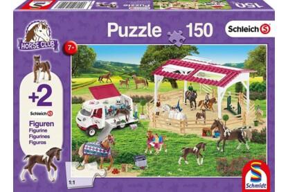 Schmidt 56240 - Riding School - 150 db-os puzzle