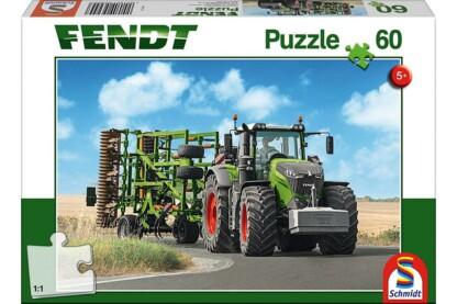 Schmidt 56255 - Fendt 1050 Vario mit Amazone Grubber - 60 db-os puzzle