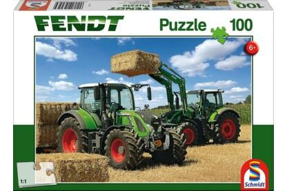 Schmidt 56256 - Fendt 724 Vario mit Frontlader Cargo - 100 db-os puzzle