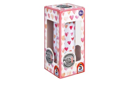 Schmidt 56906 - Hearts - 10 db-os Tower puzzle