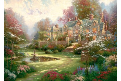 Schmidt 57453 - Gardens beyond Spring Gate - 2000 db-os puzzle