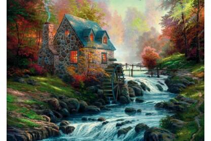 Schmidt 57486 - Cobblestone Mill, Thomas Kinkade - 1000 db-os puzzle