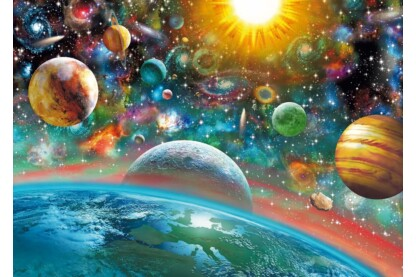 Schmidt 58176 - Outer Space - 1000 db-os puzzle